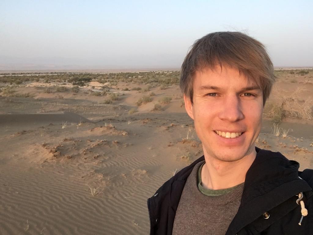 Backpacking Iran Wüste