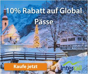 Interrail Winter Zug